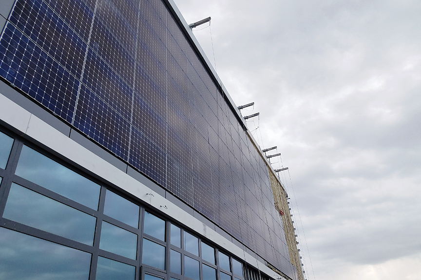 Commercial Solar Panel System Installation