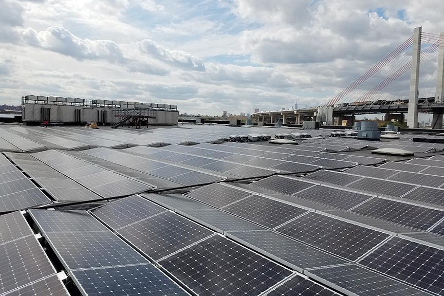 Commercial Solar System Installation